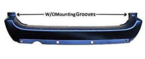 Crash Parts Plus CH1100315 Rear Bumper Cover for 05-07 Chrysler Town & Country, Dodge Caravan