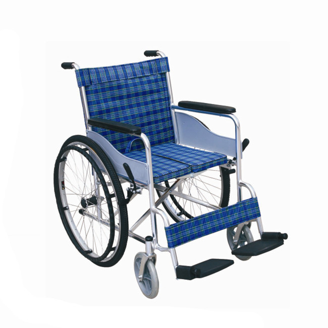 Aluminum alloy frame Manual wheelchair
