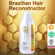 OEM permanent hair straightening keratin treatment brazilian keratin global keratin for hair private label accept
