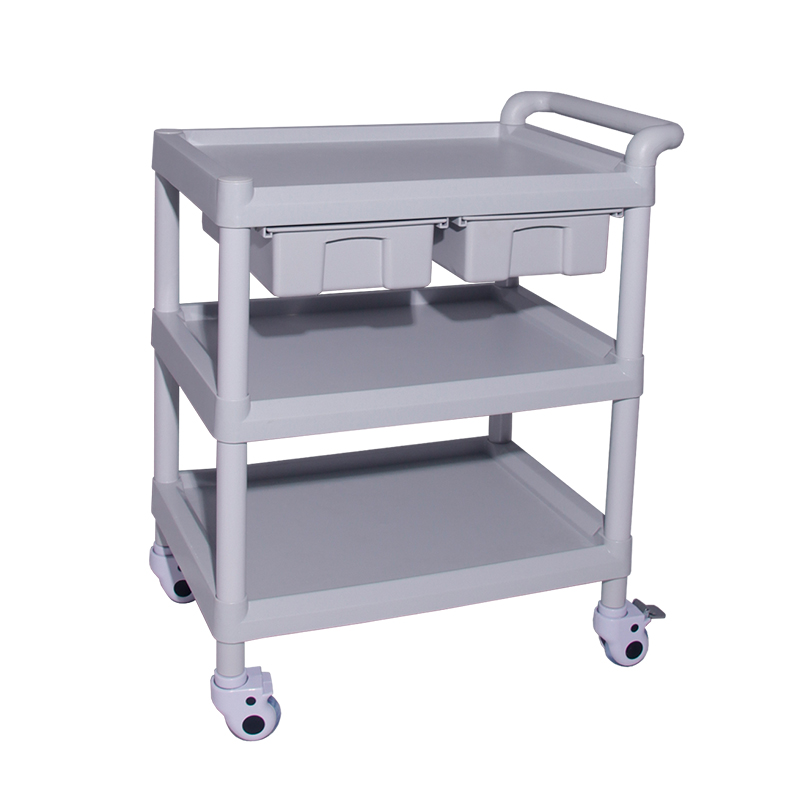 High Quality Abs Hospital Medical Trolley