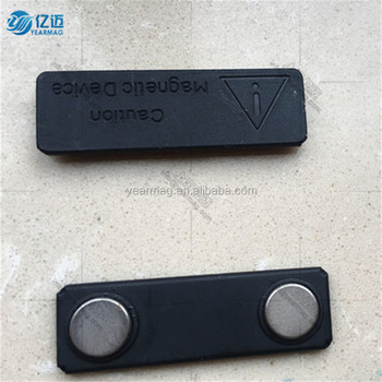 Customized shape magnets name badge tag magnet with strong magnetic holding force for clothing
