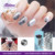 Professional Best Selling100% Real Nail Varnish Solid Color Nail Polish Stickers