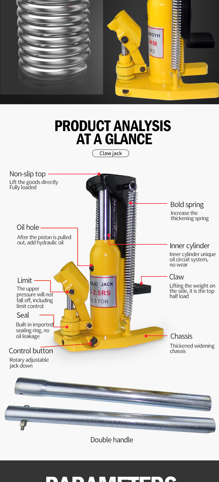 Hydraulic Ram Toe Lift Jack 50/25 Ton Hoist Picker Track Machine Container  Loading, View Toe Lift Jack, Jinyou Product Details from Hebei Jinteng