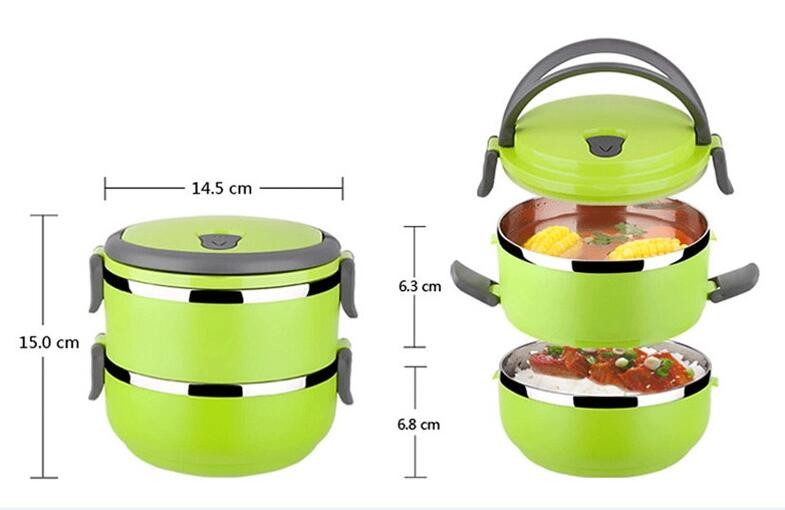 wholesale 201 pp plastic food carrier bento lunch boxes stainless steel bento box buy new. Black Bedroom Furniture Sets. Home Design Ideas