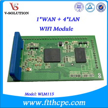1 WAN + 4 LAN WIFI Module with ATHEROS Chipset Extend Wireless Fidelity Function