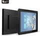 12 inch industrial capacitive touch LCD screen monitor resolution1024*768 with VGA USB RS323,support open frame