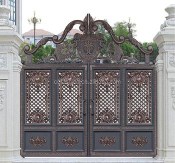 Outdoor Used House Gate Grill Designs Stylish Garden Entrance Gate/  Aluminum Door - Buy Aluminum Door,Villa Door,Garden Gate Product on  Alibaba com