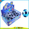 High Qulity Kid's Toy LED Rubber 85mm Football Flashing Water Bouncy Ball