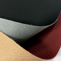 Semi pu bonded leather with suede backing for sofa, chair