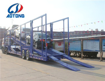 Customized Car Carrier Truck Trailer/ 5 Car Carrier Trailers For Sale/ Car  Storage Lift Trailer In Philippines - Buy Car Carrier Trailers For Sale,Car