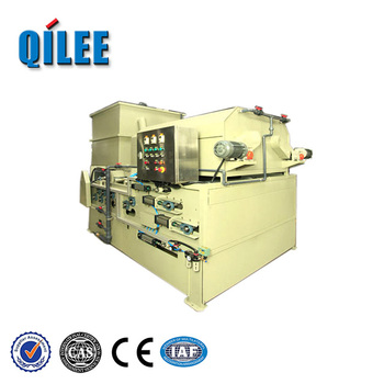 Energy-Saving Fabric Belt Filter Press For Slaughter House Qilee