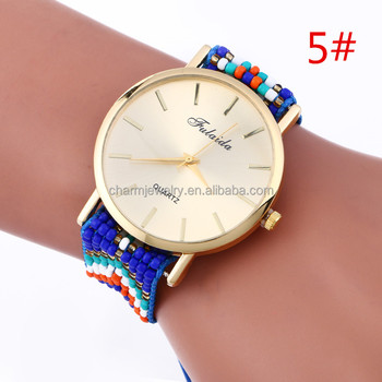 Boho Amistad Colorido Reloj Hippie On Bwl345 Banda Buy Moda Product Metal reloj delgado OkZXwPiluT