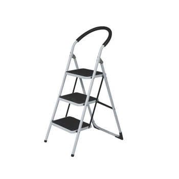 Magnificent 3 Step Non Slip Tread Folding Step Ladder Kitchen Stool Diy Home Safety Ladders Buy Safety Step Ladders With Handrail Steel Folding Step Machost Co Dining Chair Design Ideas Machostcouk