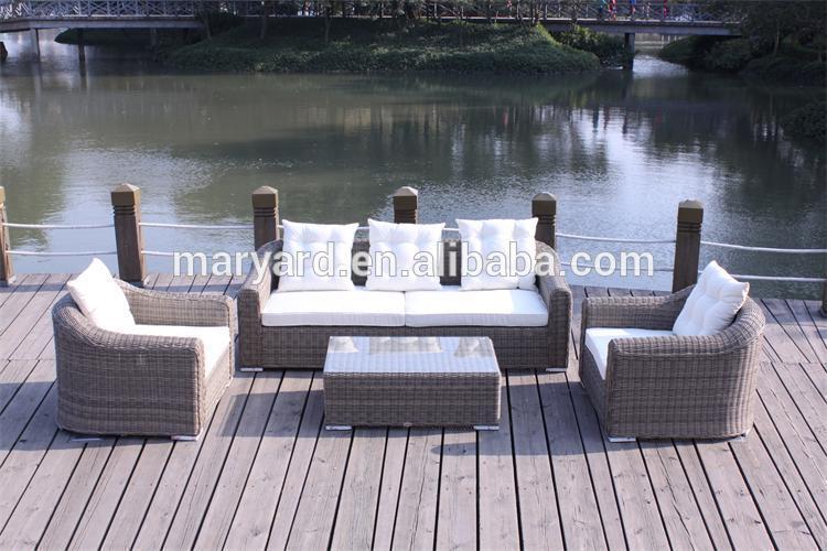 Muebles de jard n de mimbre al aire libre de mimbre for Muebles jardin mimbre