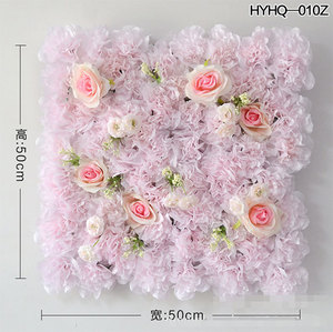 Hot Sale Wedding Arrangement/silk Flower Wall/decorative Flower Backdrop