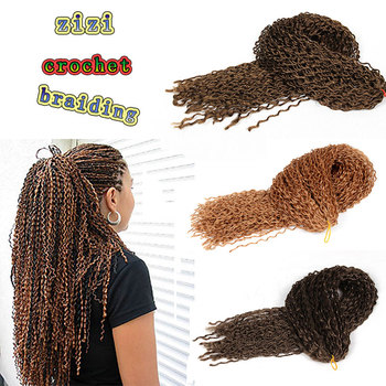 Micro Knot Zizi Crochetbraids S/curl Synthetic Micro Braiding Hair 24''  Zizi Kinky Curl Braid Hair Best Synthetic Hair Extension - Buy Jerry Curl
