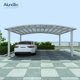 Polycarbonate Canopies Carports Double Cantilever Car Garage Aluminum Carport