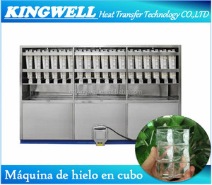 Big Output 5000kg/day Ice Cube Making Machine Price For Commerical
