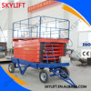 Scissor Design and CE Certification Air Hydraulic Motorcycle Lift