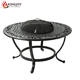 4-person Cast Aluminum Fire Pit with Table