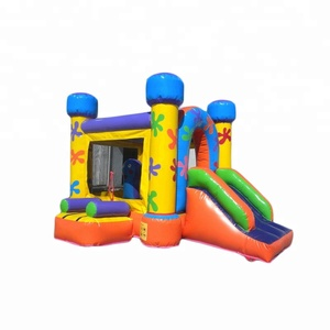 Low price inflatable playground kids mini bouncer inflatable jumper slide for sale