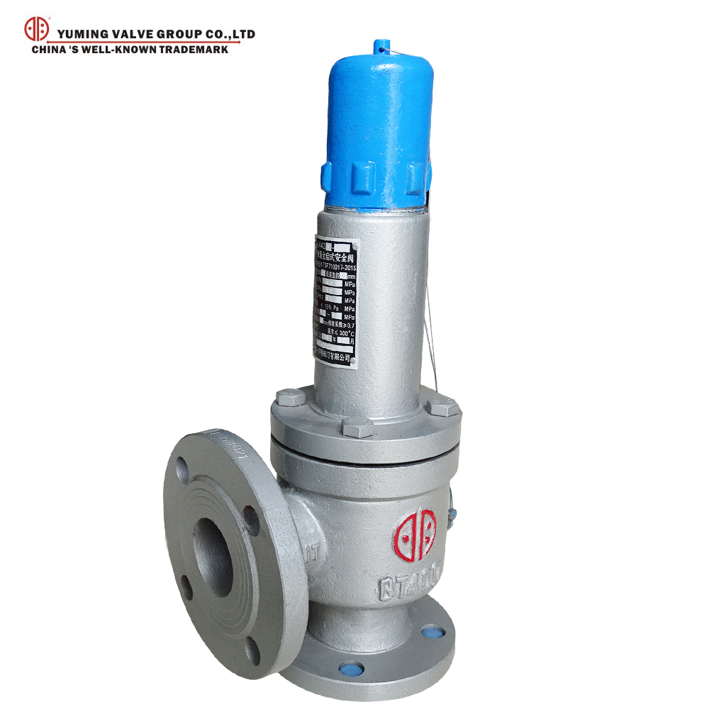 Flanged Ductile iron spring full - open safety valve price