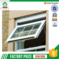 Double glazing casement vinyl windows wholesale