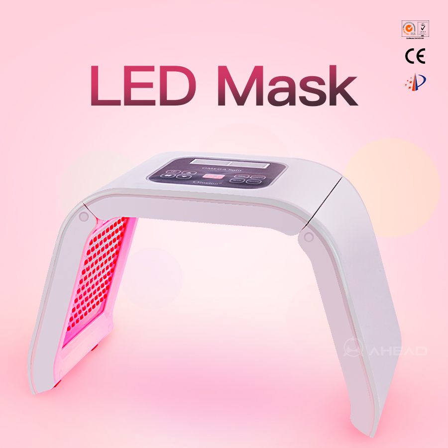 led beauty machine pdt bio-light therapy 4 LED photon color PDT restore healthy skin