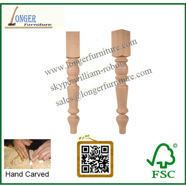 De alta calidad del poste de madera para cocina en isla y mesas de ...