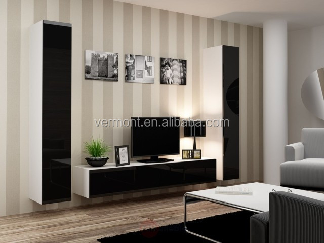 2017 TV hall cabinet living room furniture designs with showcase