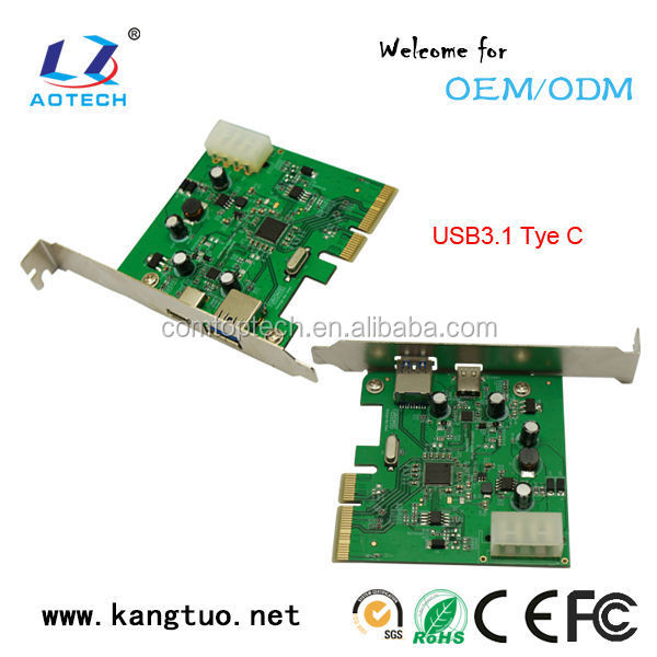 Usb3.1 Usb 3.0 Pci Express Card Adapter