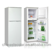 220L American Double solid Door Refrigerator for home use
