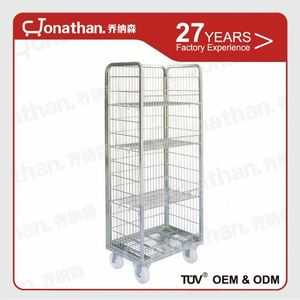 Roll containerG customized sizes laundry trolley