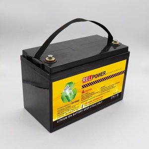 LIFEPO4 12v 8ah Battery Pack in abs plastic box with built-in BMS