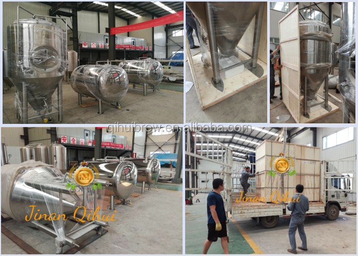 1000l draught beer machine used fermenting equipment