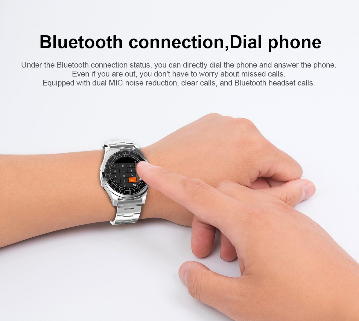 ECG+PPG Smart Watch medical wrist watch mobile phone custom logo wrist watch