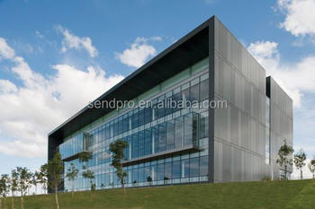 Hidden Frame Curtain Wall/one Way Vision Window Film For Glass ...