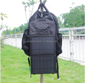 Backpack solar charger 13W iphone solar charger for Iphone, powerbank tablet etc