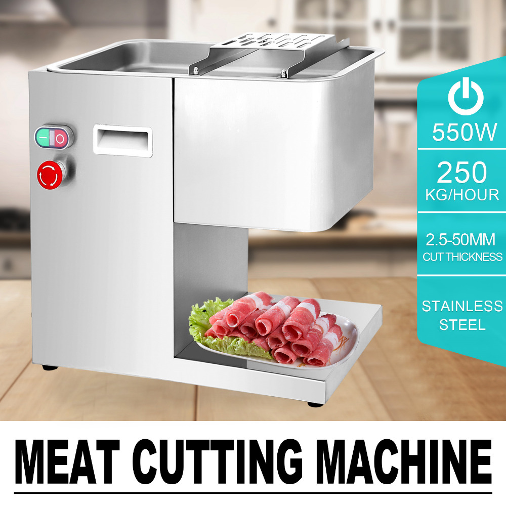 250kg hour electric stainless steel meat cutter slicer meat cutting machine beef