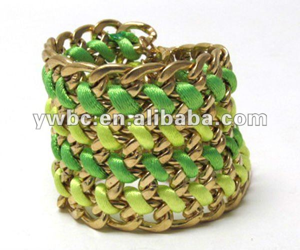 Wholesale petal basket stretch bracelet accessories for woman (B102001)