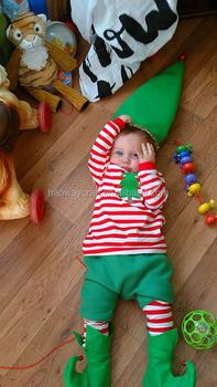 high quality cotton christmas pajamas kids elfchristmas costume - Elf Christmas Pajamas