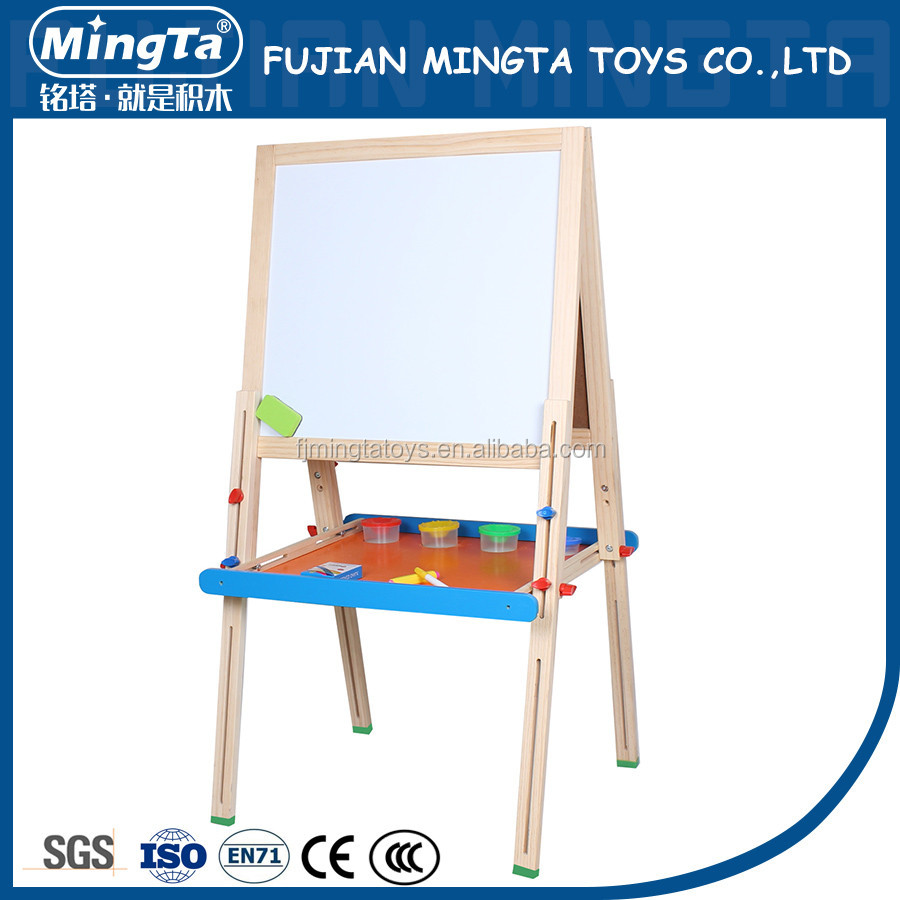 Kids Standing Wooden Writing Board