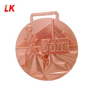 metal craft & gift 3d logo custom sport medal with cheap price