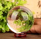 K9 fengshui crystal glass ball christmas ball paperweight