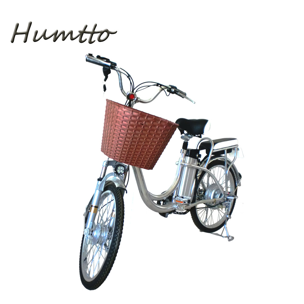 Aluminium alloy frame lithium battery 25/350w 12ah city electric bicycle