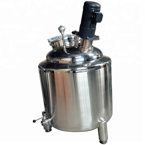 stainless steel molasses tank industrial side entry mixer