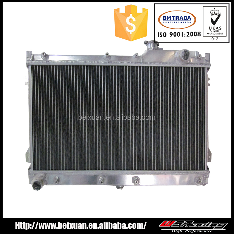 for PEUGEOT 205 MT full aluminium radiator auto racing radiator