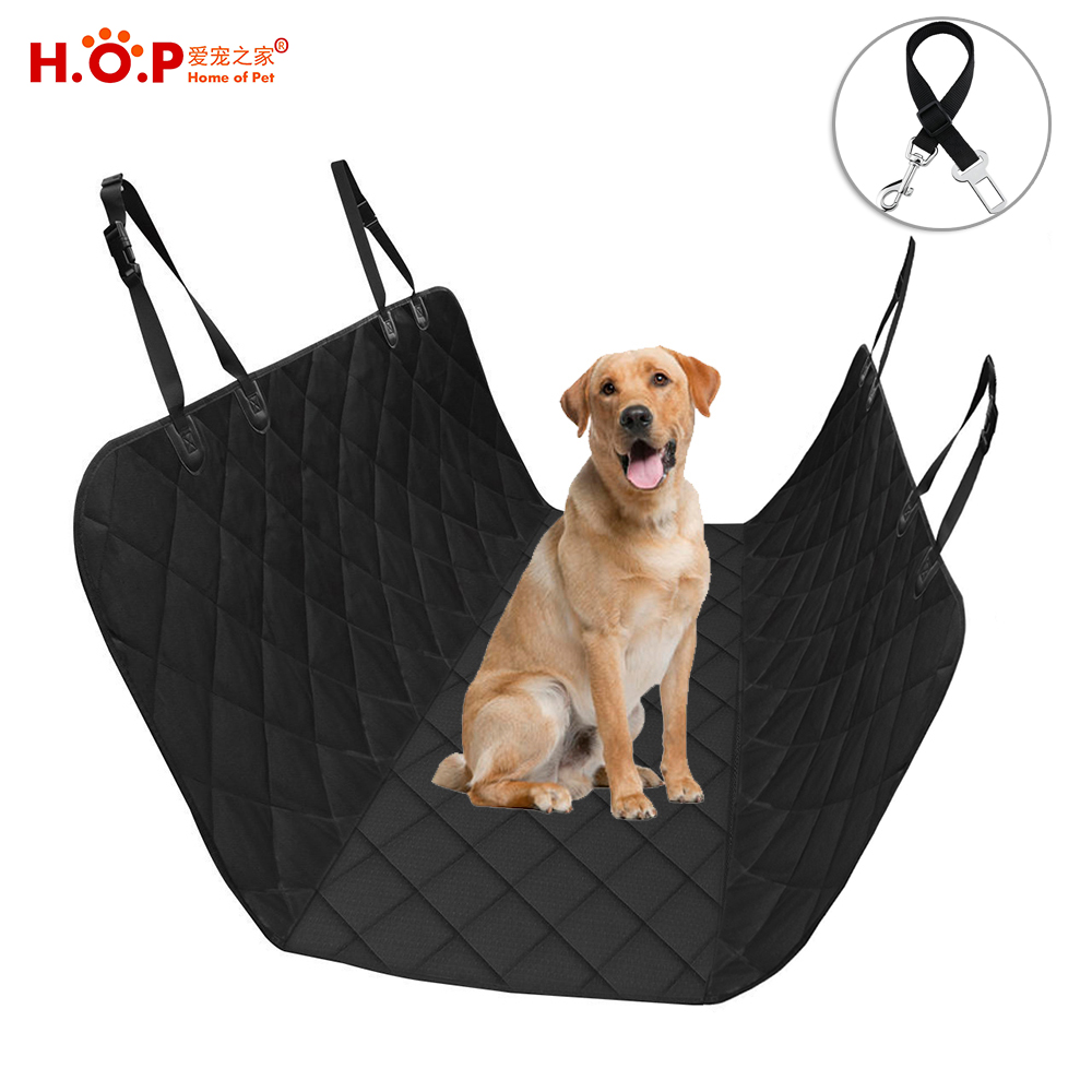 Waterproof No Slip Car Seat Cover Rear Hammock Quilted Pet Car Seat Cover For <strong>Dogs</strong>