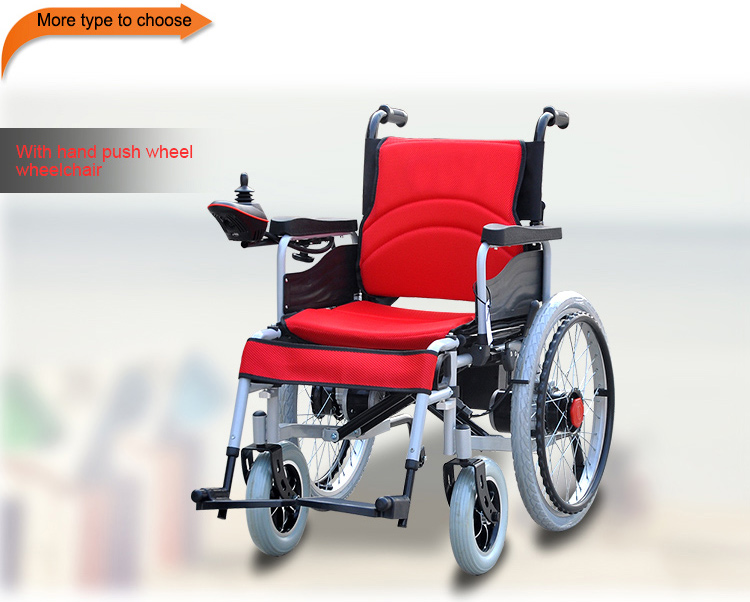 Trade Assurance Handicapped Used Electric Motorized Wheelchair For Disabled