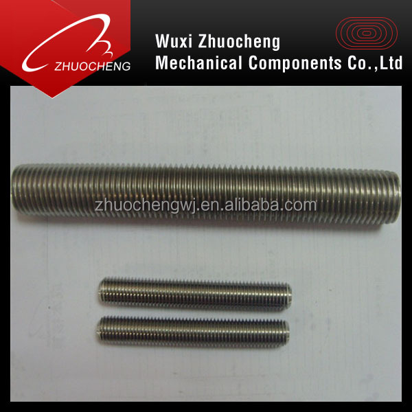 din975 stainless steel 316 a4 ASTM A193 B8M thread rod